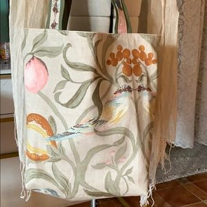 Shopping/Hand Carry Soft Canvas Bag
